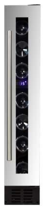 Встраиваемый винный шкаф Dunavox DX-7.20SSK/DP Black