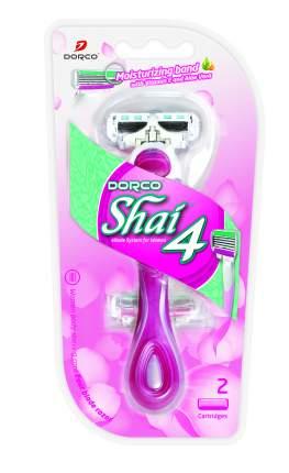 Станок для бритья со сменными кассетами Dorco Razors Shai 4