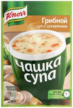 Суп Knorr чашка грибной с сухариками сухая смесь 15.5 г