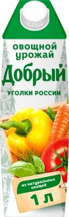 Нектар мультиовощной Добрый овощной урожай 1 л