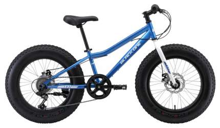 Велосипед Black One Monster 20 D 2020 One Size blue/silver
