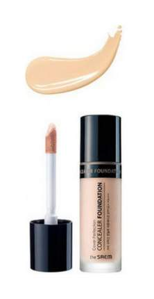 Консилер The SAEM Cover Perfection Concealer Foundation 01 Clear Beige 38 мл