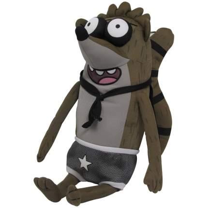 Плюшевая игрушка Regular Show, Rigby Обычный мультик, Ригби со звуком, 50 см