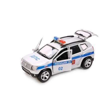 Машинка Технопарк металлическая инерционная renault duster Полиция 12 см