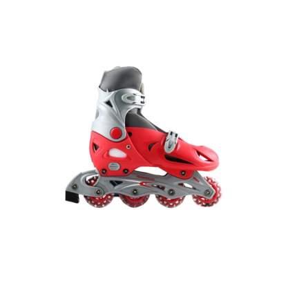 Детские роликовые коньки Shantou Gepai раздвижные красные размер 37-40 Х31843