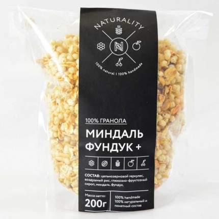 Гранола Naturality миндаль и фундук 200 г