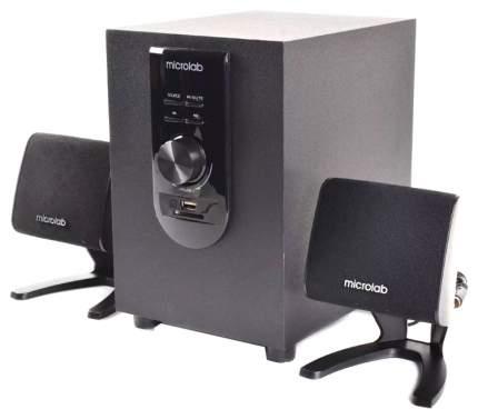 Акустическая система 2.1 Microlab M-108U, Черный