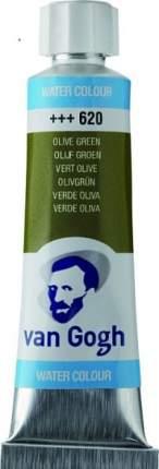 Акварельная краска Royal Talens Van Gogh №620 зеленый оливковый 10 мл