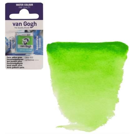 Акварельная краска Royal Talens Van Gogh №633 желто-зеленый устойчивый 10 мл