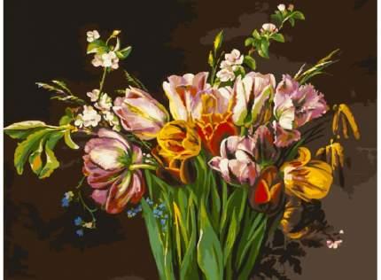"""Набор для рисования """"Голландские тюльпаны"""", 30x40 см"""
