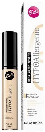 Корректор для лица Bell Hypoallergenic Liquid Eye №01 Light Beige 6 мл