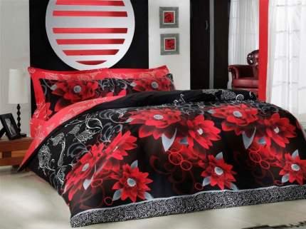 Постельное белье Cotton Life Mildredd Цвет: Красный (1,5 спальное)