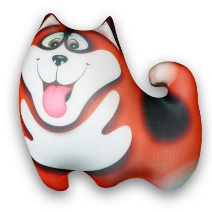 Игрушка-антистресс СПИ Собака Хаски оранжевая