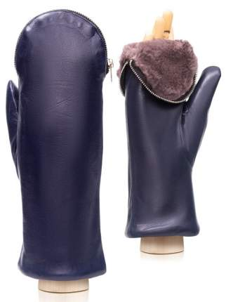 Варежки женские Eleganzza IS129 синие 6.5