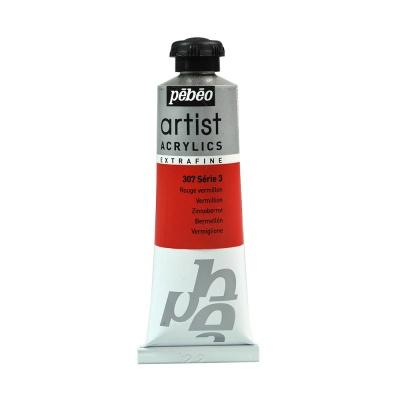 Акриловая краска Pebeo Artist Acrylics extra fine №3 ало-красный 37 мл
