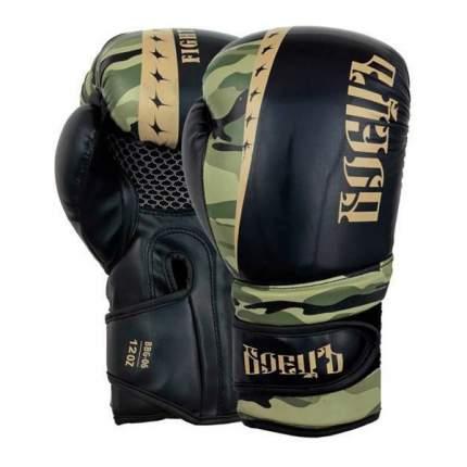 Боксерские перчатки БоецЪ BBG-06 хаки 12 унций