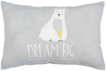 """Подушка """"Крошка Я"""" Большие мечты, 30х47 см, 100% хлопок, синтепон Крошка Я"""