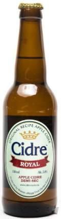 Сидр Cidre Royal Apple Demi-Sec 0.33 л