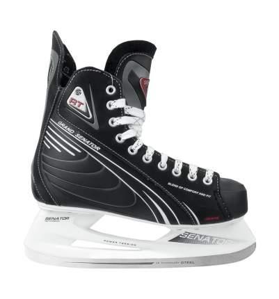 Коньки хоккейные Спортивная Коллекция Senator Grand RT черные, 46