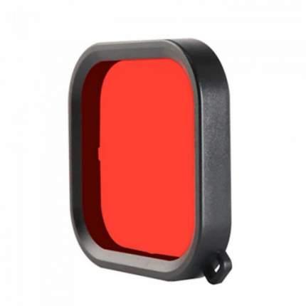 Подводный фильтр на аквабокс для Gopro HERO8 Red