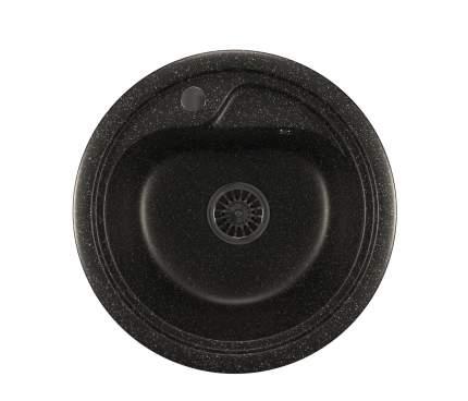 Мойка для кухни мраморная MIXLINE ML-GM10 черная