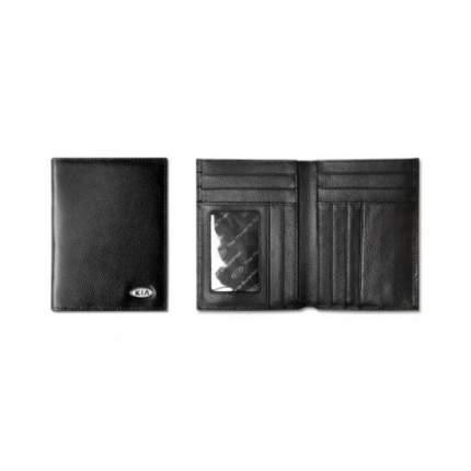 Кожаный кошелек Kia R8480AC512K Black