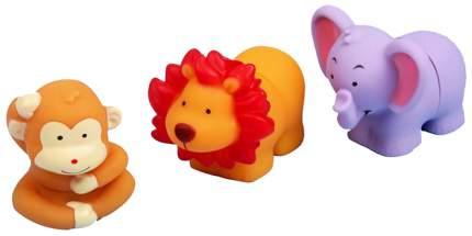 "Игрушки-пазл для ванны ""Зверята"", 3 шт.  Крошка Я"