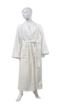Банный халат TAC Bettie белый xxxL