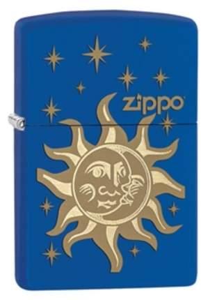 Бензиновая зажигалка Zippo Sun & Moon 28791 Navy Matte