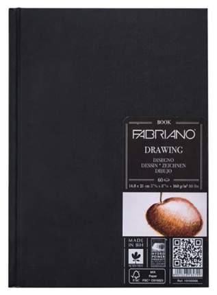 Блокнот для зарисовок FABRIANO Drawingbook 60л.  148x210мм