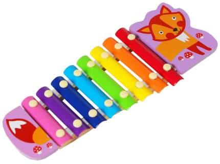 """Музыкальная игрушка """"Металлофон. Лисичка"""", 8 тонов Sima-Land"""