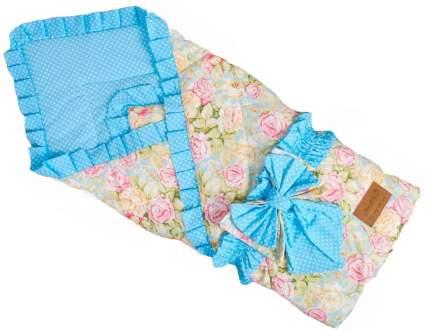 Одеяло на выписку AmaroBaby HAPPY (Сказка бирюзовый)