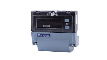 Счетчик электроэнергии Incotex Меркурий 200.02, электронный, 1 фаза, 2 тарифа, 5А