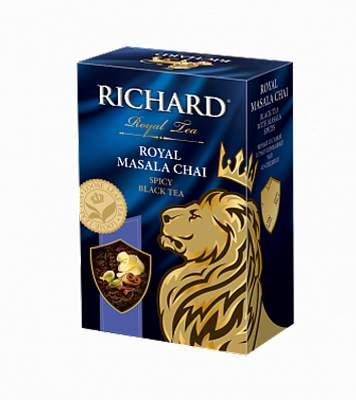 Чай Richard Royal Masala Chai черный с добавками 90 г
