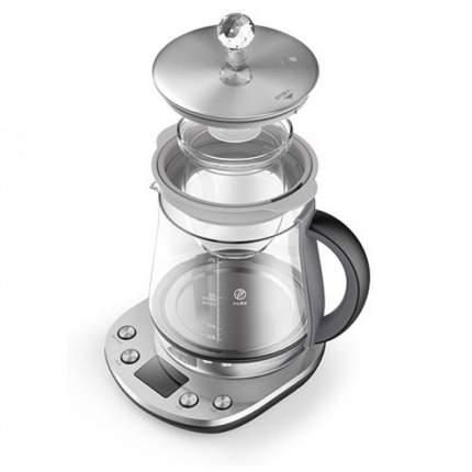 Чайник-заварник Xiaomi Deerma Multi-function Electric Heat Kettle Silver
