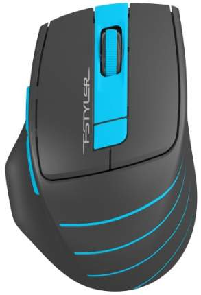 Беспроводная мышка A4Tech FStyler FG30 Grey/Blue
