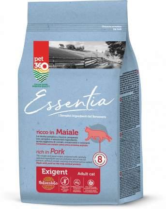 Сухой корм Essentia для привередливых кошек (1,5 кг, Свинина)