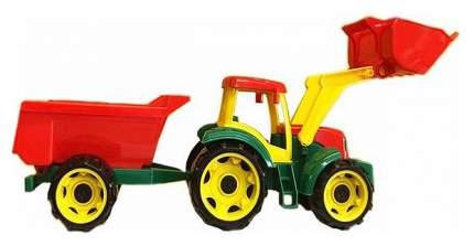 """Трактор """"Трудяга"""", с прицепом"""