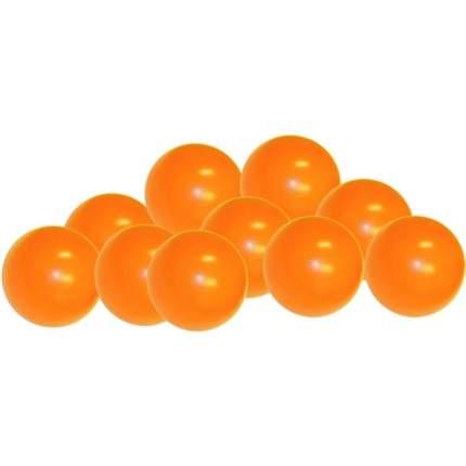 Шарики для манежа-бассейна Leco диаметр 7,5 см оранжевые, 320 шт.