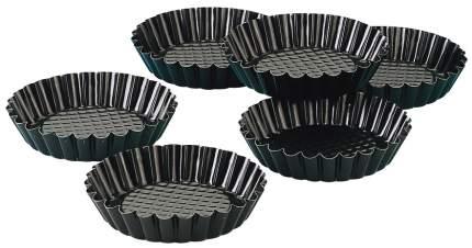 Формы для выпечки тарталеток Zenker Black Metallic 10 см 6 шт, 1 уп,