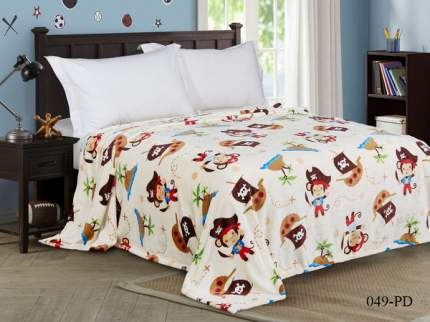 Плед в ясельную кровать Текс-Дизайн Пираты велсофт 90х120