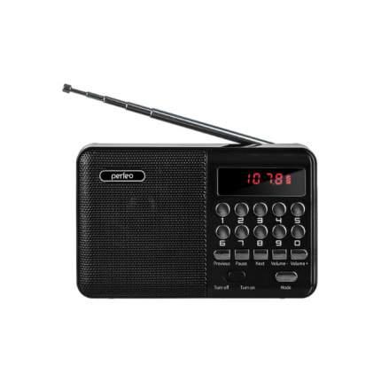 Радиоприемник Perfeo Palm Black