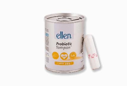 Тампон с пробиотиками Ellen Normal 12 шт