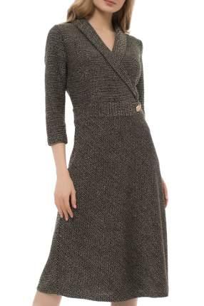 Платье женское Argent VZD913429 коричневое 56 RU