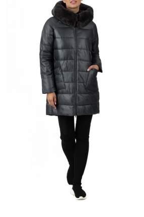 Пуховик-пальто женский WINTERRA 18-633 серый 46 RU