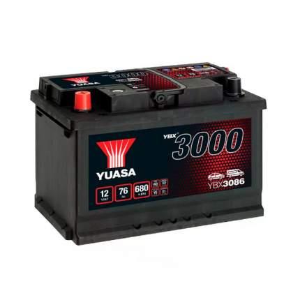 Аккумуляторная Батарея Smf[12v 75ah 650a B13] YUASA