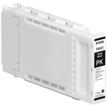 Картридж для струйного принтера Epson T6921 (C13T692100) черный, оригинал