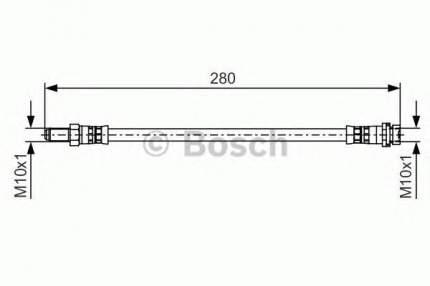 Шланг тормозной Bosch 1987481488