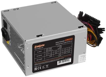 Блок питания компьютера ExeGate UN650 EX259601RUS