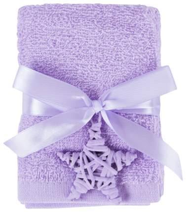 Набор полотенец Arya новогодняя фиолетовый